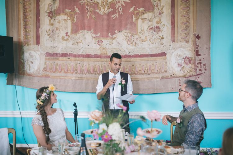 Wedding Reception Speeches at Walcot Hall