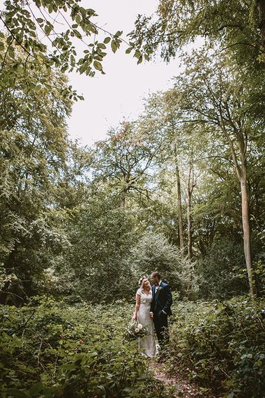 Couples Portrait in Forest