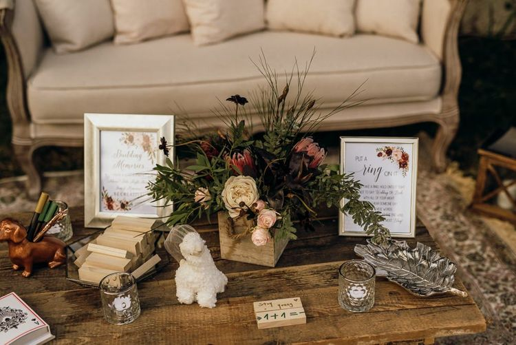Wedding decor for destination wedding