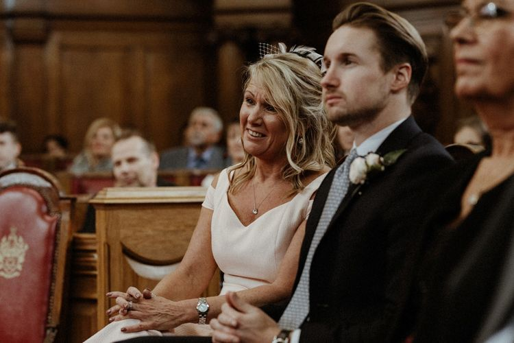 Islington Town Hall Wedding With Reception At St Barts Brewery With Groom In Moss Bros. And Images From Olivia & Dan Photography