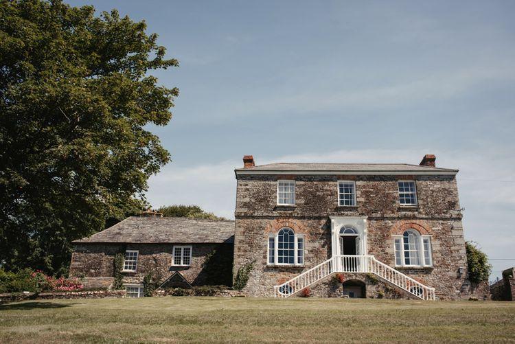 Launcells Barton Wedding Venue // Image By McGivern Photography