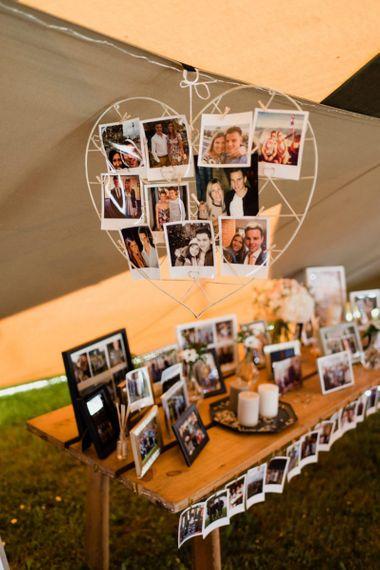 Polaroid Picture Wedding Decor