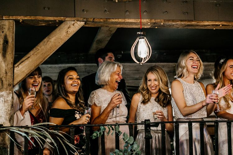 Wedding Guests | Quirky Pub Wedding at The Bell in Ticehurst East Sussex | Epic Love Story Photography