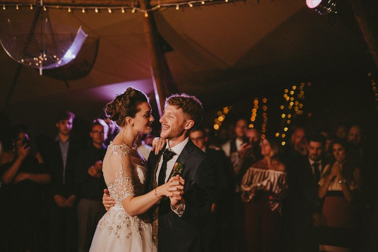 First dance in a tipi