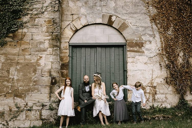 Intimate family wedding in Whitby