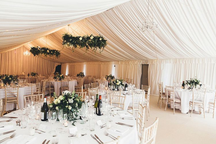 Stylish Modern Marquee Wedding at Priory Cottages in the Yorkshire Dales | Leanne Jade Photography