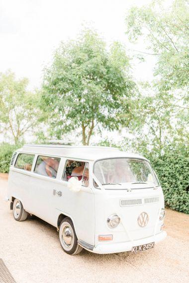 VW Camper Van Wedding Transport