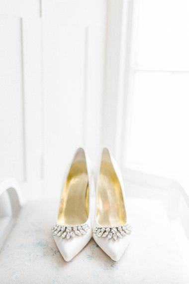 Jewel Encrusted Wedding Shoes
