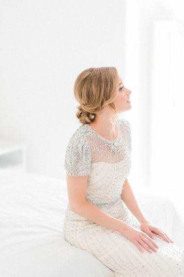 Beautiful Bride in Dallas Jenny Packed Beaded Wedding Dress