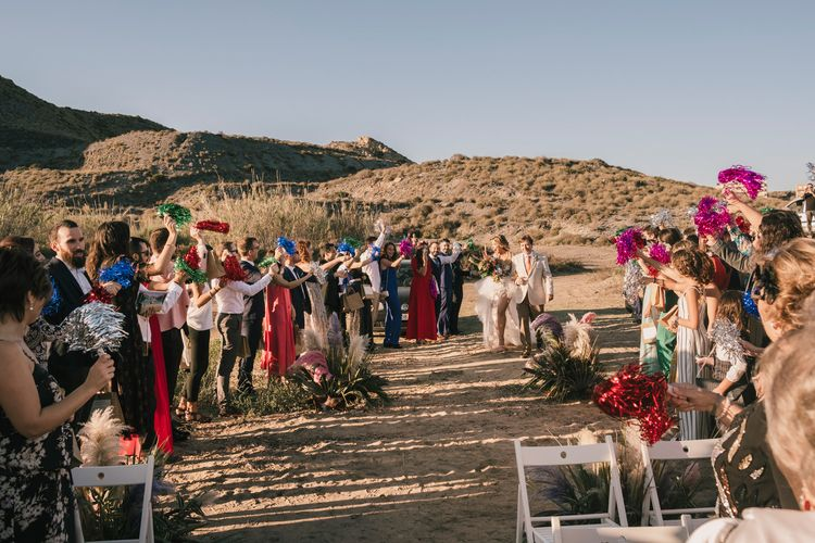 Spanish Beach Wedding