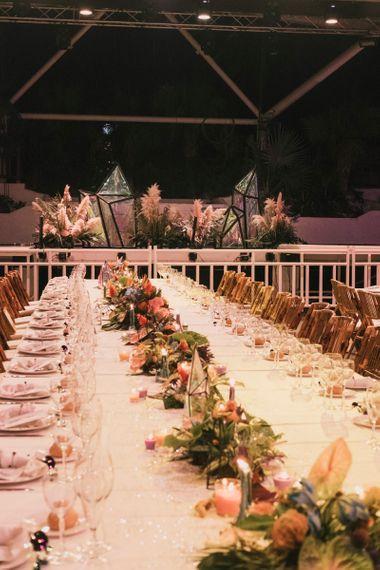 Long tablescape