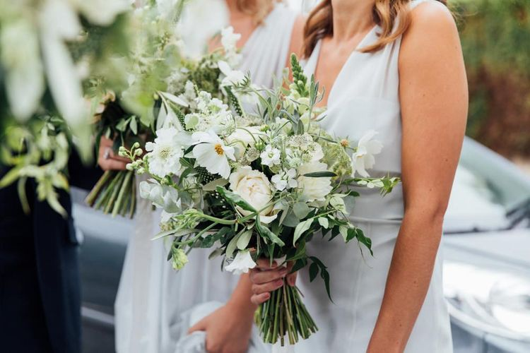 White Blooms and Green Foliage | French Rustic at Northbrook Park in Surrey | Images by Charlotte Bryer-Ash