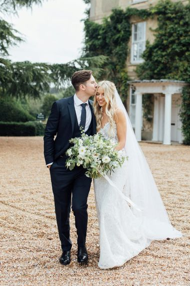 White Blooms and Green Foliage   Made With Love Ella Dress   French Rustic at Northbrook Park in Surrey   Images by Charlotte Bryer-Ash
