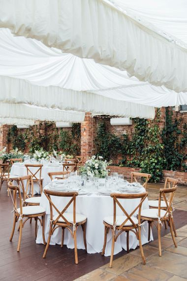 White Blooms and Green Foliage   French Rustic at Northbrook Park in Surrey   Images by Charlotte Bryer-Ash