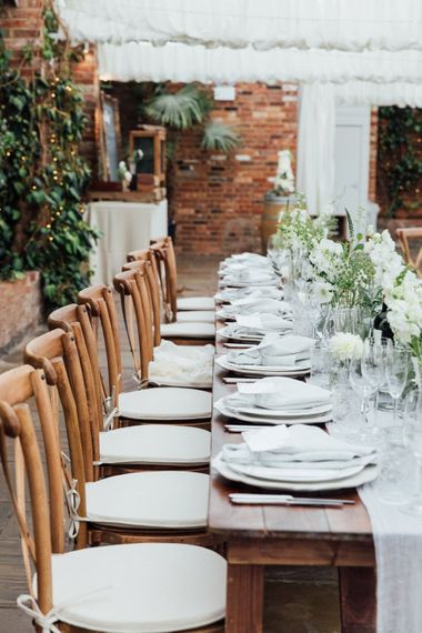 Table Decor | French Rustic at Northbrook Park in Surrey | Images by Charlotte Bryer-Ash