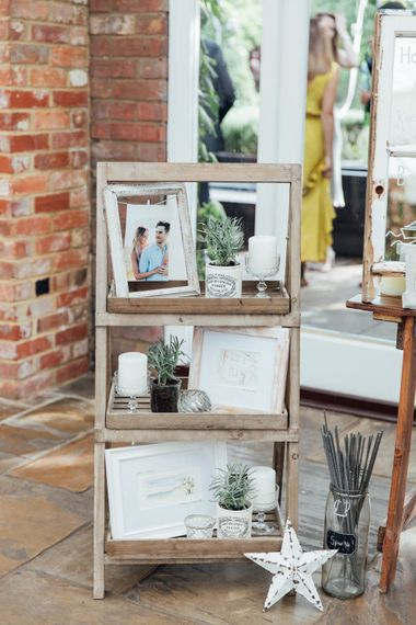 DIY Decor and Signage | French Rustic at Northbrook Park in Surrey | Images by Charlotte Bryer-Ash