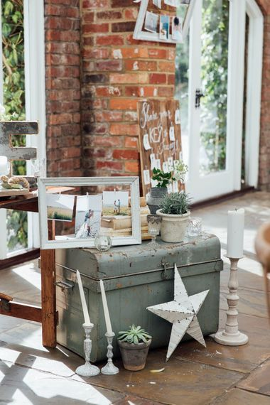 DIY Decor and Signage   French Rustic at Northbrook Park in Surrey   Images by Charlotte Bryer-Ash