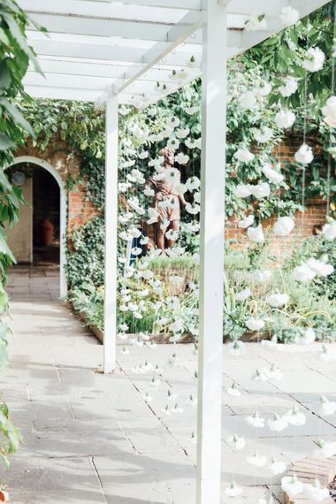 Flower Curtain | French Rustic at Northbrook Park in Surrey | Images by Charlotte Bryer-Ash