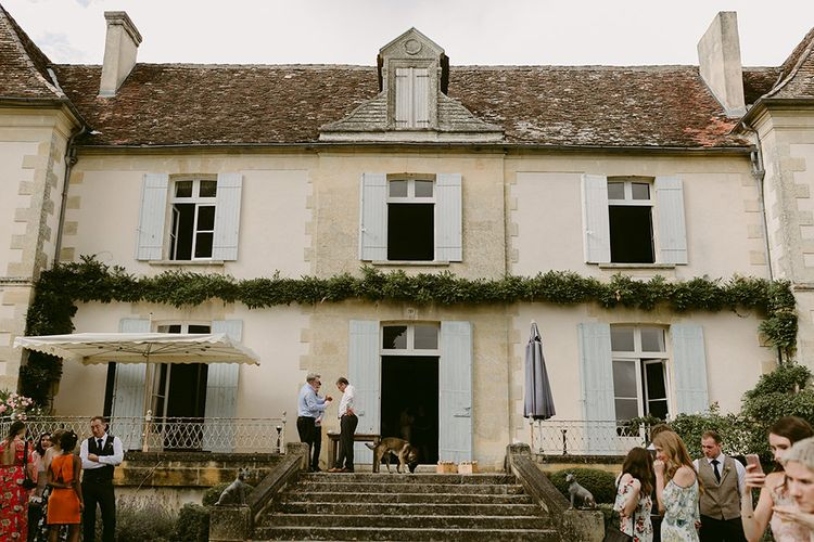 Outdoor Boho Wedding at Chateau le Tour, France | Adam and Grace Photography | Head and Heart Films