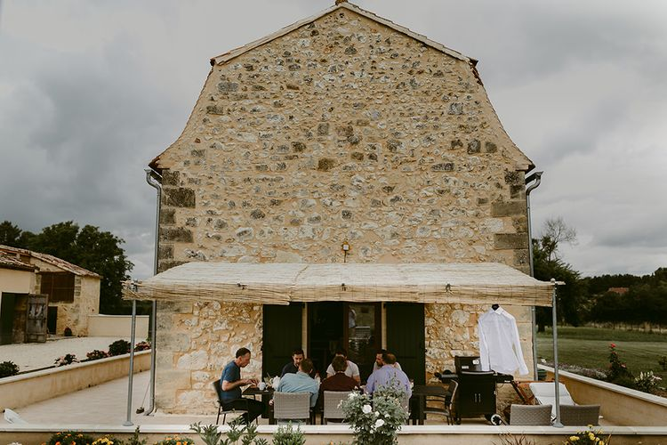 Wedding Morning | Outdoor Boho Wedding at Chateau le Tour, France | Adam and Grace Photography | Head and Heart Films