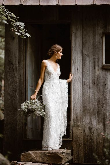 Made With Love Bridal Dress With V Neck
