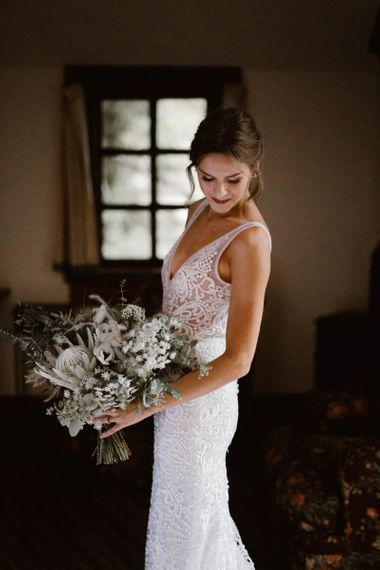 Bride In Made With Love Bridal Gown