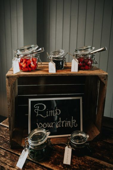 Pimp your Prosecco station at wedding