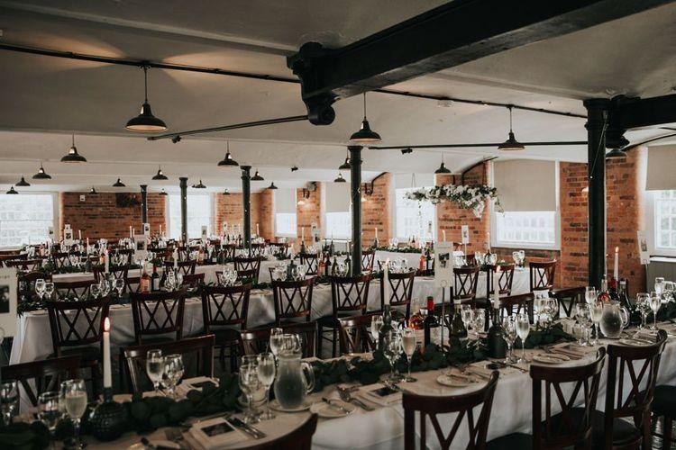 Industrial wedding venue in Derbyshire