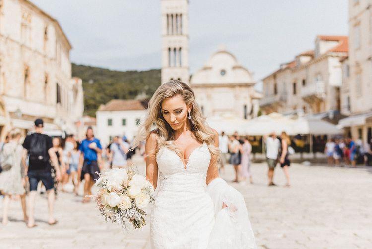 Bride in Hvar with Essense of Australia