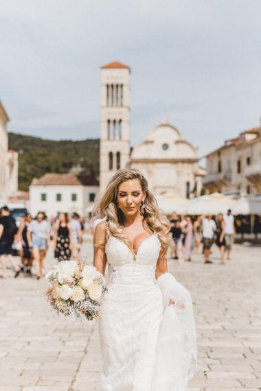 Essense of Australia wedding dress for Hvar elopement