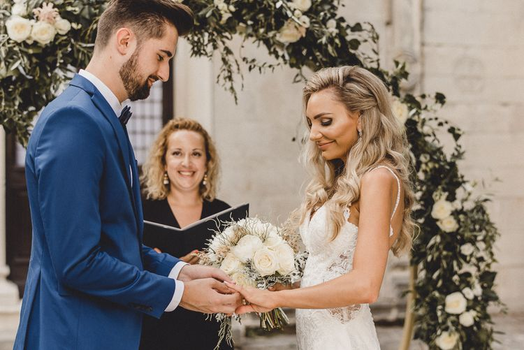Intimate wedding in Croatia