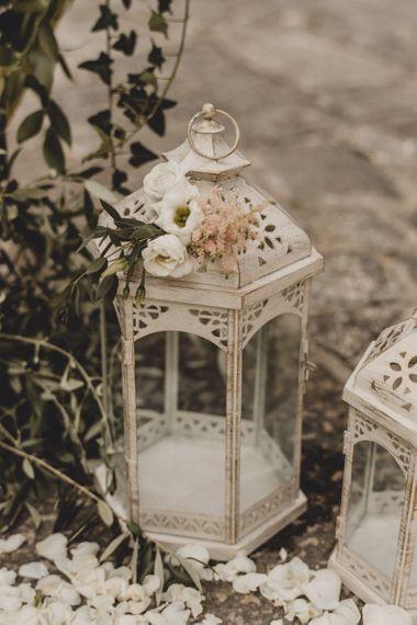 Wedding decor lanterns
