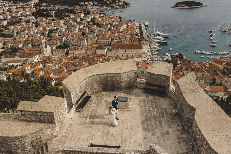 Destination elopement in Croatia