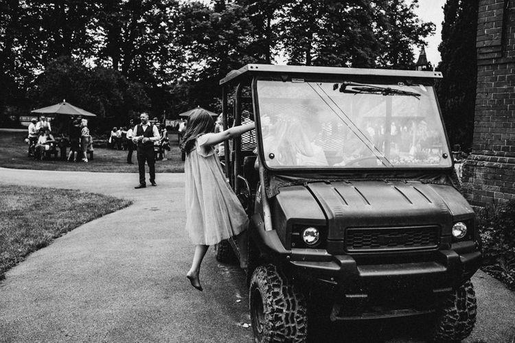 Flower Girl | Rustic, Boho, Outdoor Summer Garden Wedding at Herons Farm, Berkshire | Carla Blain Photography