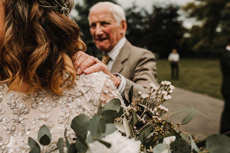 Wedding Day Moments | Rustic, Boho, Outdoor Summer Garden Wedding at Herons Farm, Berkshire | Carla Blain Photography