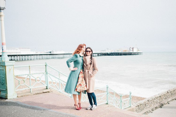 Brighton engagement shoot for Lesbian couple