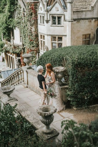 Intimate LGBTQ+ wedding photography by Stephanie Dreams Photography