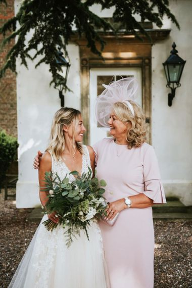 Mother of the bride and daughter portrait