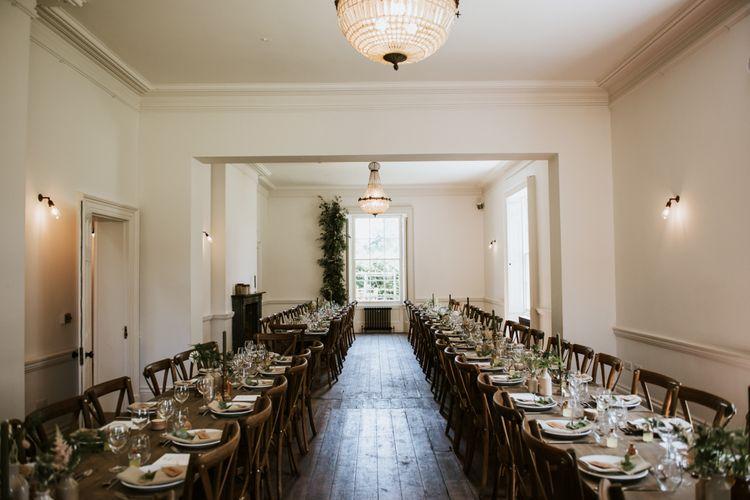 Aswarby Rectory wedding reception