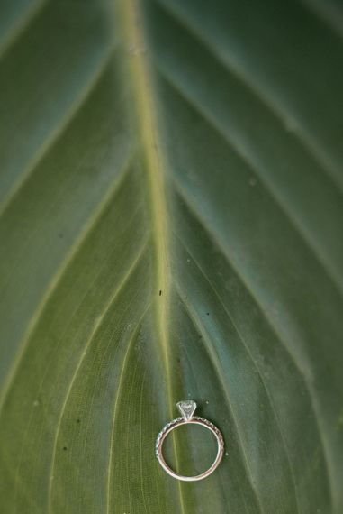 Engagement Ring | Luxe Blush Pink Glasshouse Wedding at Cortal Gran, Spain Planned by La Puta Suegra  | Sara Lobla Photography