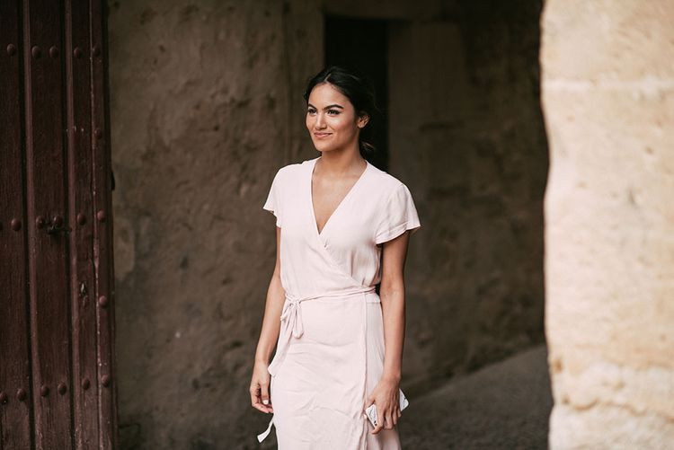 Wedding Morning Bridal Preparations | Luxe Blush Pink Glasshouse Wedding at Cortal Gran, Spain Planned by La Puta Suegra  | Sara Lobla Photography