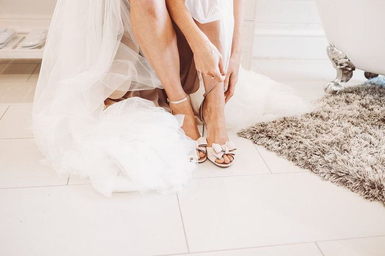 Nude Bridal Shoes from Dune London