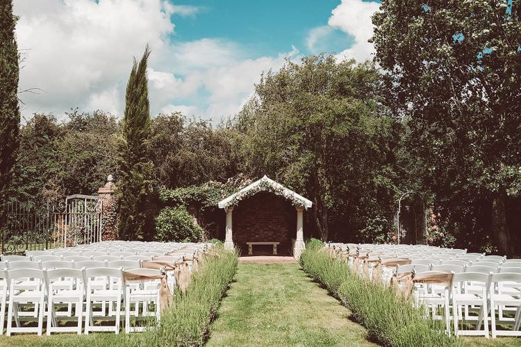 Outdoor Wedding at Country House