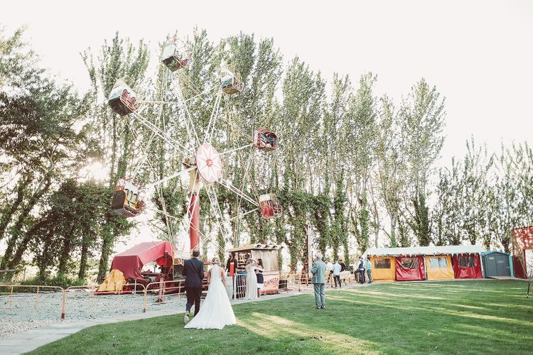 Funfair Wedding at Country House
