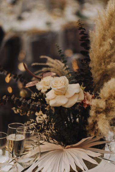 Muted Floral Arrangements