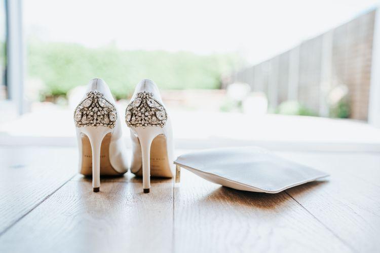 Jewel Encrusted Freya Rose Bridal Shoes