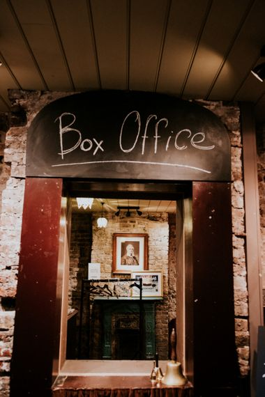 Box Office Outside Wilton's Music Hall