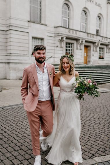 Micro wedding at Hackney Town Hall by Epic Love Story Photography