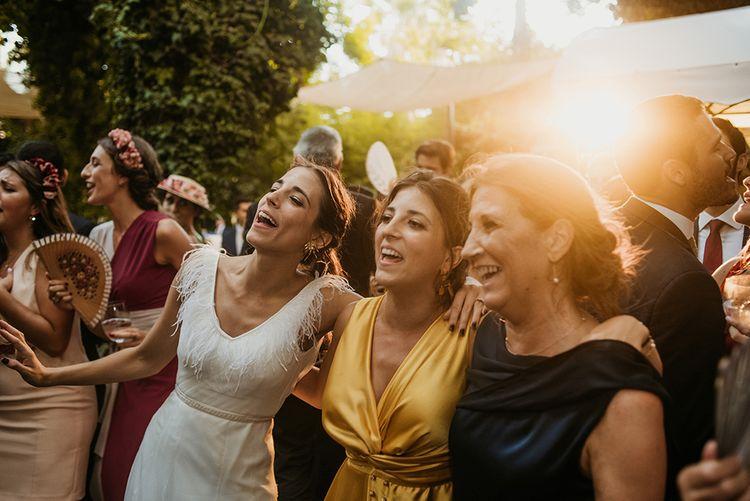 Evening Reception| Malaga Destination Wedding | Sara Lobla Photography | Un Par de Medias Film