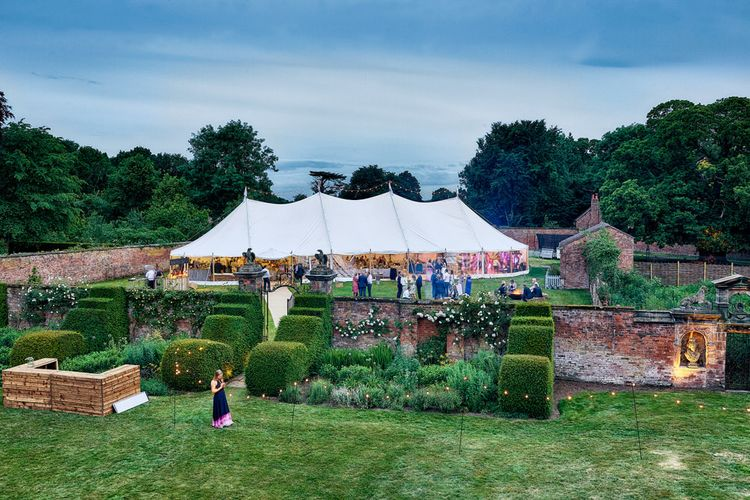 Sperry Tent Wedding at Dorfold Hall
